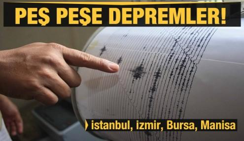 Son dakika: Peş peşe depremler! Manisa, İstanbul, Bursa ve İzmir! Yıkılan  evler var - GÜNCEL Haberleri, Haber7