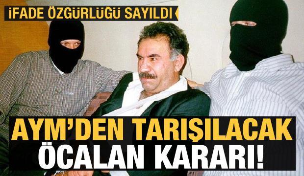 Anayasa Mahkemesi'nden 'Öcalan' kararı!