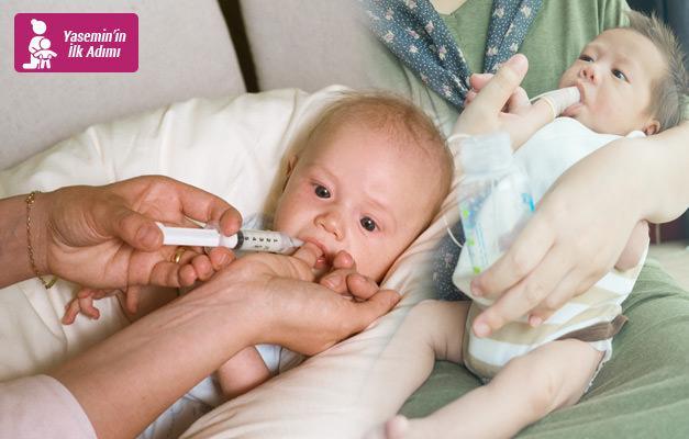 Yeni trend: Finger Feeding! Şırınga ile bebek nasıl beslenir?
