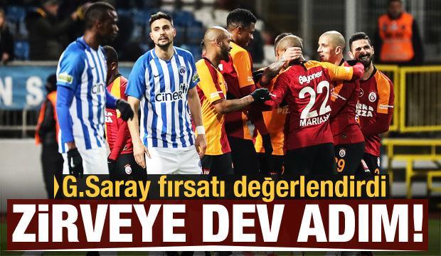 Galatasaray'dan zirveye dev adım!