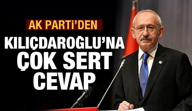 AK Parti'den Kılıçdaroğlu'na çok sert cevap