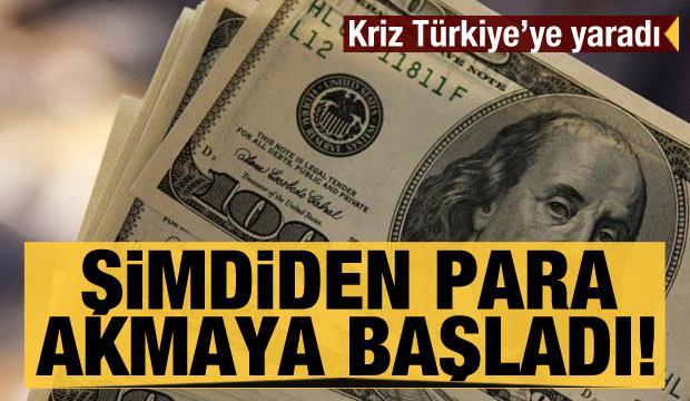 Çin'deki kriz Türkiye'ye yaradı! Şimdiden para akmaya başladı