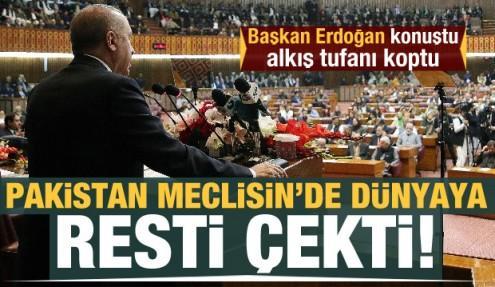 Cumhurbaşkanı Erdoğan: Dün Çanakkale bugün Keşmir