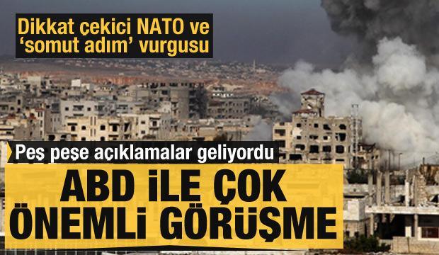 Peş peşe açıklamalar geliyordu: Türkiye ile ABD arasında önemli görüşme!