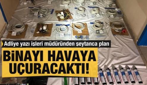 Şırnak'ta korkunç plan! Adliye binasını havaya uçuracaktı