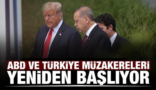 Son dakika: ABD ve Türkiye müzakerelere yeniden başlıyor! Erdoğan ve Trump'tan kritik görüşme