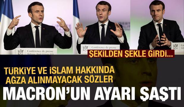 Macron'un ayarı şaştı! Türkiye ve İslam için ağza alınmayacak sözler