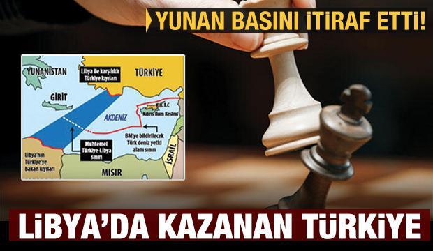 Yunan medyasından itiraf: Libya'da kazanan Türkiye oldu