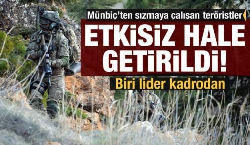 MSB duyurdu: Sızmaya çalışan teröristler etkisiz hale getirildi