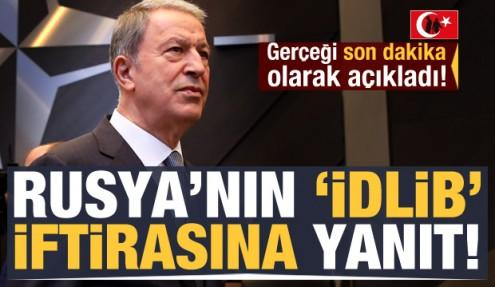 Rusya'nın açıklaması sonrası, Türkiye'den cevap