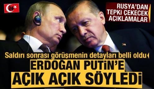 33 şehidin ardından Rusya'dan peş peşe Türkiye açıklamaları! Erdoğan, Putin'e açık açık söyledi