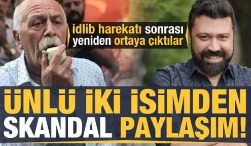 Türkiye'nin başlattığı dev operasyon sonrası ünlü isimlerden skandal İdlib paylaşımı!