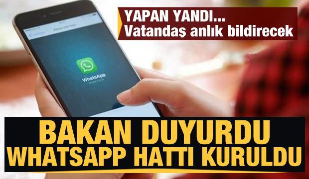 Bakan açıkladı! WhatsAp hattı kuruldu... Gıdada yeni dönem vatandaş anlık bildirecek
