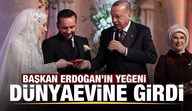 Başkan Erdoğan'ın yeğeni dünyaevine girdi