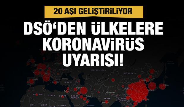 DSÖ'den ülkelere koronavirüs çağrısı