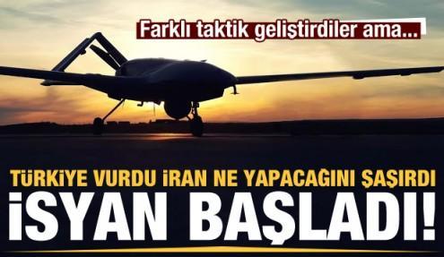 Türkiye vurdu, İran ne yapacağını şaşırdı! İsyan başladı...