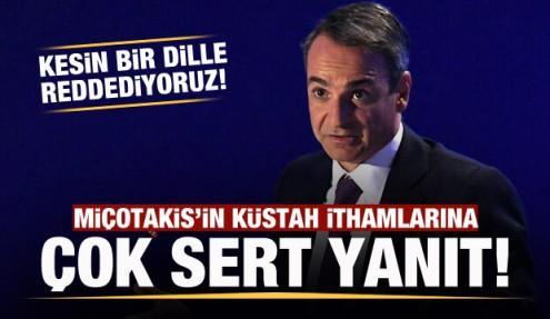 Türkiye'den Miçotakis'in küstah ithamlarına cevap!