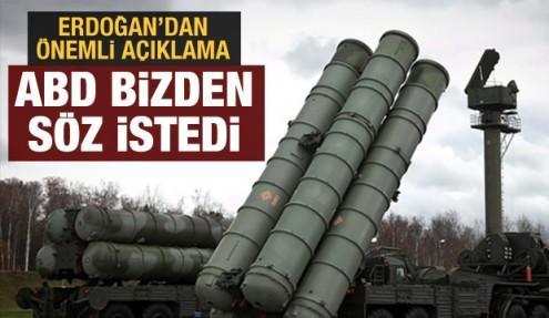 Erdoğan'dan son dakika Patriot ve S-400 açıklaması açıklaması