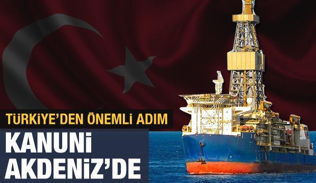Son dakika haberi: Türkiye'nin 3'üncü sondaj gemisi Kanuni geldi