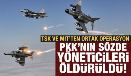 TSK ve MİT'ten ortak operasyon: 5 terörist etkisiz hale getirildi