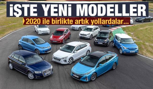 2020 yılında dünya yollarına çıkan yeni modeller! Marka marka o liste...