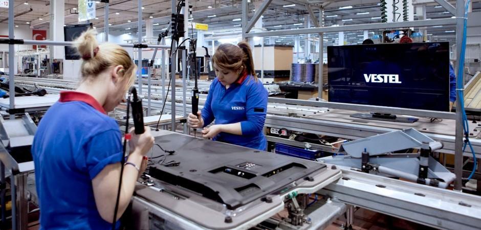 Vestel üretime yeniden başladı