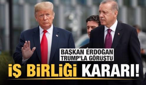 Başkan Erdoğan Trump'la koronavirüsü görüştü! İş birliği kararı