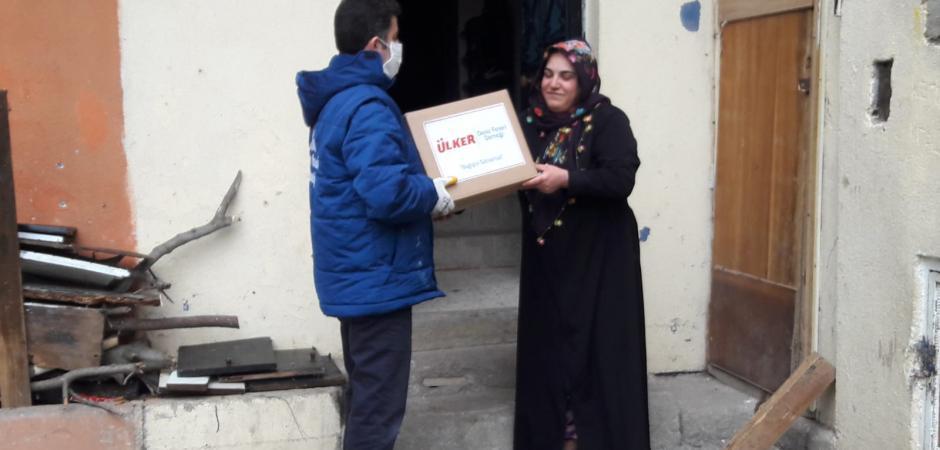Deniz Feneri Başkanı Cengiz: Yıldız Holding afet süresince 10 Bin aileye gıda kolisi dağıtacak