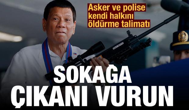 Kendi halkını öldürme talimatı: Sokağa çıkanları vurup öldürün