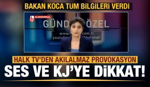 Halk TV'den çirkin koronavirüs algısı! Sağlık çalışanlarını da hedef aldılar