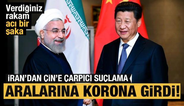 Koronavirüs müttefiklerin arasını açtı! İran'dan Çin'e 'rakam' tepkisi