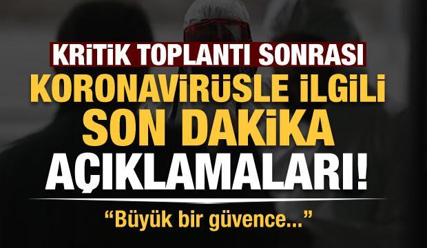 Son dakika haberi: Kritik toplantı sonrası Ömer Çelik'ten önemli açıklamalar