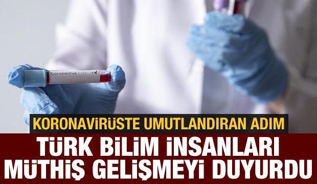 2015'te ilk KKKA aşısını bulan Türk doktordan büyük başarı: Koronavirüsü izole etti