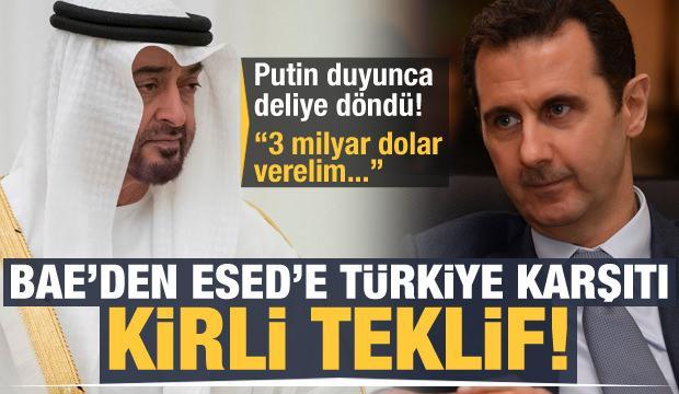 BAE'den Esed'e Türkiye karşıtı kirli teklif: 3 milyar dolar verelim...