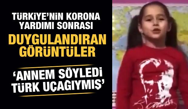 Bakan Çavuşoğlu paylaştı! Duygulandıran görüntüler