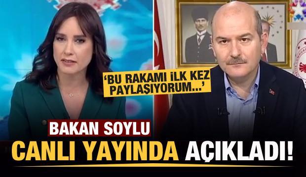 Bakan Soylu, canlı yayında ilk kez açıkaldı!