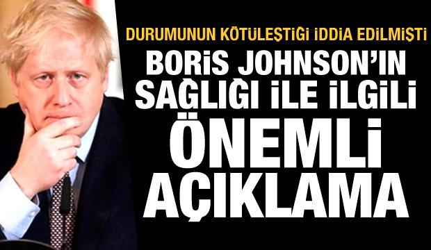 'Durumu kötüleşti' iddiası sonrası Boris Johnson'ın sağlığı ile ilgili son dakika açıklaması