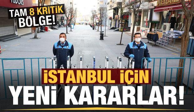 İstanbul'da 2 meydan ve 6 cadde yaya trafiğine kapatıldı!
