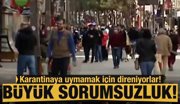 İzmirliler karantinaya uymuyor!