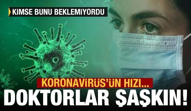 Koronavirüs'ün hızı ABD'li doktorları da şaşırttı!