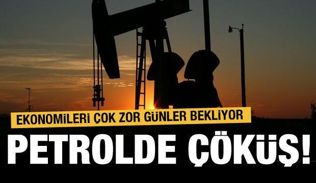 Petrol ekonomilerini çok zor günler bekliyor!