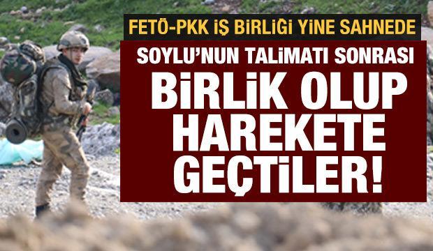 PKK'ya laf edemeyenler, İçişleri Bakanı Soylu'ya saldırmaya başladı