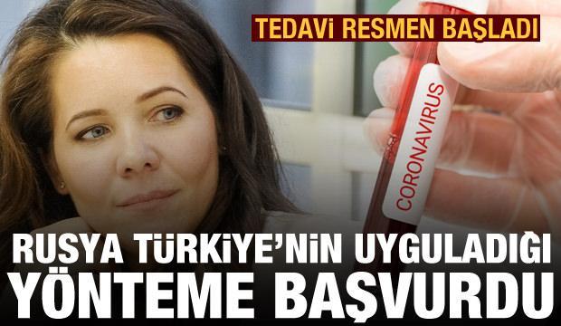 Rusya, Kovid-19 hastalarını Türkiye'nin uyguladığı yöntemle tedavi ediyor