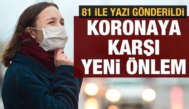 Son dakika haberi: Sağlık Bakanlığından yeni koronavirüs önlemi