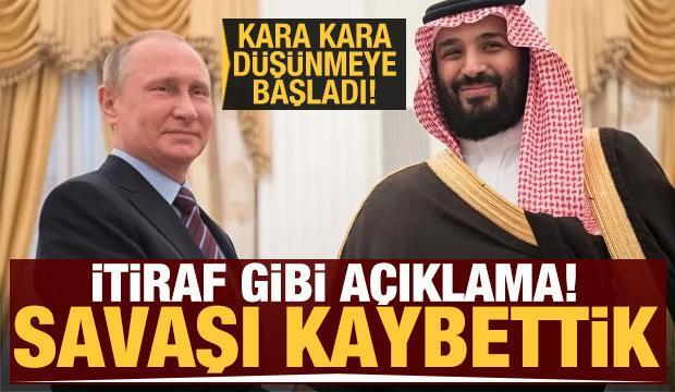 Suudi Arabistan Rusya'ya karşı savaşı kaybettiğini kabul etti