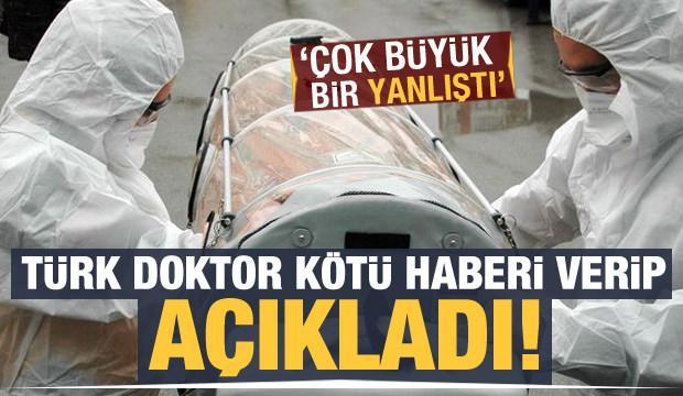 Türk doktor kötü haberi verip açıkladı: Çok büyük bir yanlıştı!
