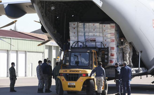 Türkiye'den İngiltere'ye tıbbi yardım desteği