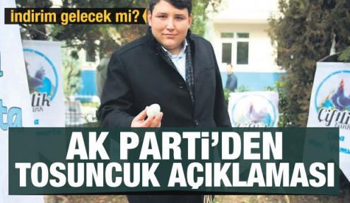 AK Parti'den Tosuncuk açıklaması! İndirim gelecek mi?