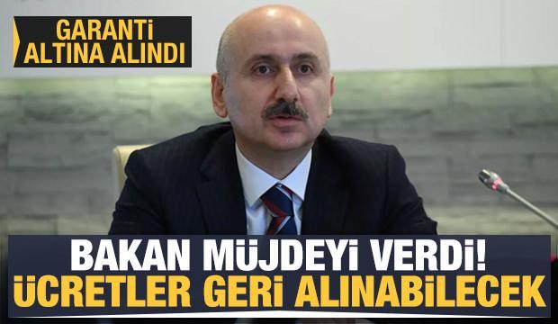 Bakan Karaismailoğlu: Havacılıkta bilet iadeleri garanti altına alındı