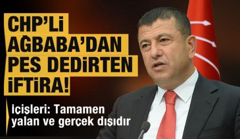 İçişleri Bakanlığı, CHP'li Ağbaba'nın iddiasını yalanladı: İftira, yalan ve gerçek dışı!